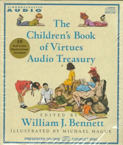 9780671536015: The Children'S Book Of Virtues Audio Treasury Cd