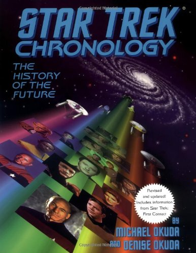 9780671536107: Star Trek Chronology: The History of the Future