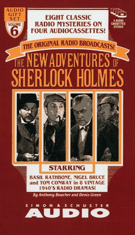 The NEW ADVENTURES OF SHERLOCK HOLMES GIFT SET VOLUME 6 (0671537032) by Anthony Boucher