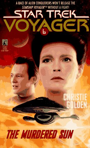 9780671537838: The Murdered Sun (Star Trek Voyager, No 6)