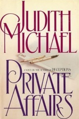 9780671541026: Private Affairs: A Novel