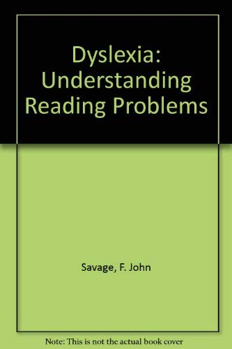 9780671542894: Dyslexia: Understanding Reading Problems