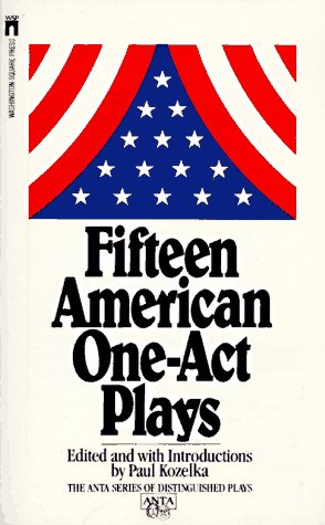 9780671543136: Fifteen American One Act Plays (Anta Series of Distinguished Plays)