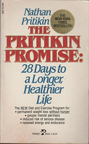 9780671546342: The Pritikin Promise: 28 Days to a Longer, Healthier Life