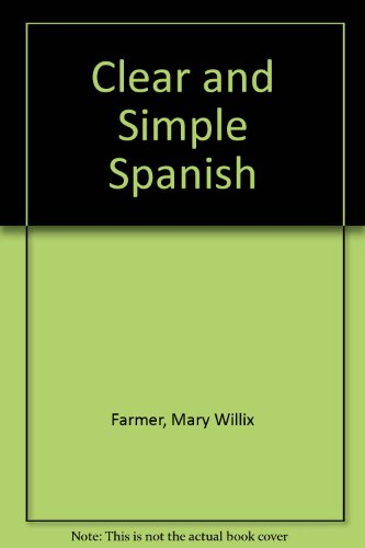 9780671546601: Arco's Clear & Simple Guide to Spanish (Clear and Simple)