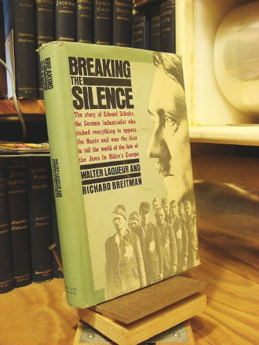 9780671546946: Breaking the Silence