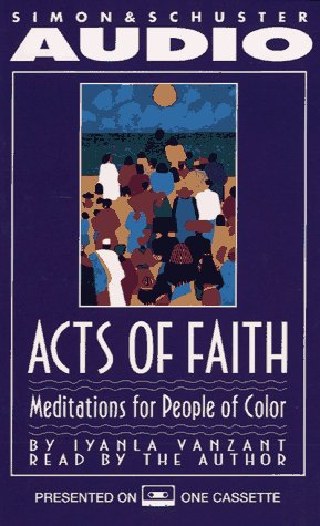 9780671549138: Acts of Faith: Meditations for People of Color
