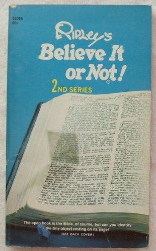 9780671550868: Ripley's Believe It or Not!: 2nd Series