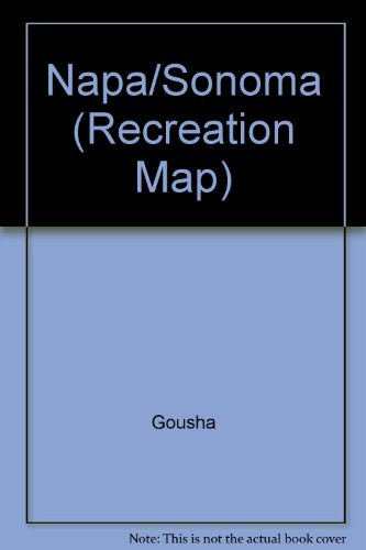 Napa/Sonoma (Recreation Map): Gousha