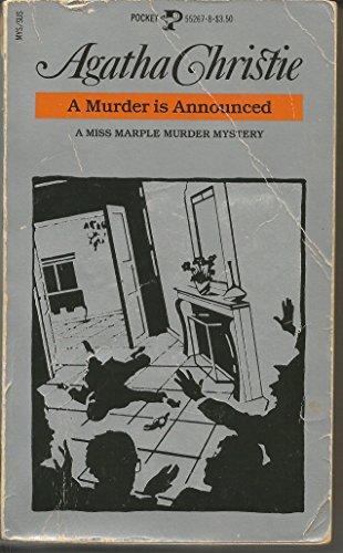 9780671552671: A Murder Is Announced: A Miss Marple Murder Mystery