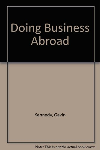 9780671554842: Doing Business Abroad