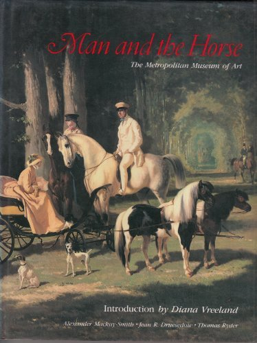 9780671555207: Man and the Horse: An Illustrated History of Equestrian Apparel