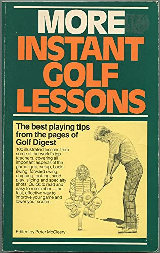 9780671556532: More Instant Golf Lessons