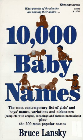 9780671556921: 10,000 Baby Names