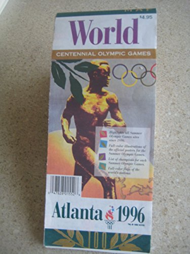 9780671558093: The official commemorative map collection: Atlanta 1996 : [world map, United States road map, Georgia road map, Atlanta map, and Olympic Ring map]