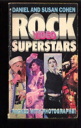 9780671558314: Rock video superstars