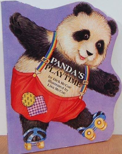 9780671558505: PANDA'S PLAYTIME: ANIMAL SHAPE BOOKS