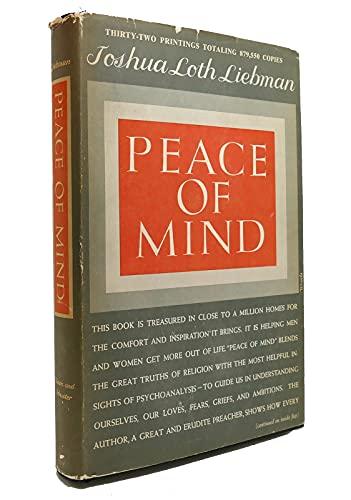 9780671560102: PEACE OF MIND