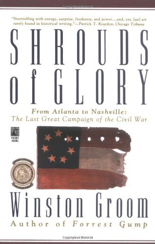 9780671562502: Shrouds of Glory: From Atlanta to Nashville : The Last Great Campaign of the Civil War