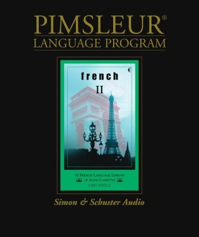 9780671570729: French II (Pimsleur Language Program)