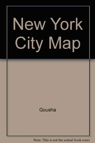 9780671571092: New York City Map