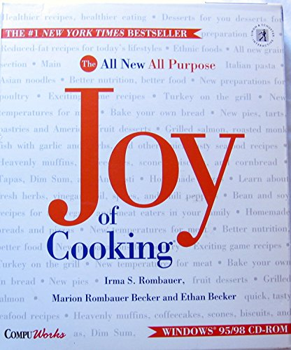 9780671575496: JOY OF COOKING, The New All Purpose, Joy of Cooking. Windows 95/98 CD-ROM