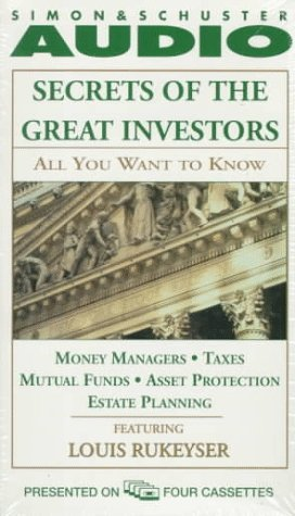 9780671580773: ALL YOU WANT TO KNOW ABOUT: SECRETS OF THE GREAT I: Money Managers and Mutual Funds Taxes, Asset Protection, and Estate Planning