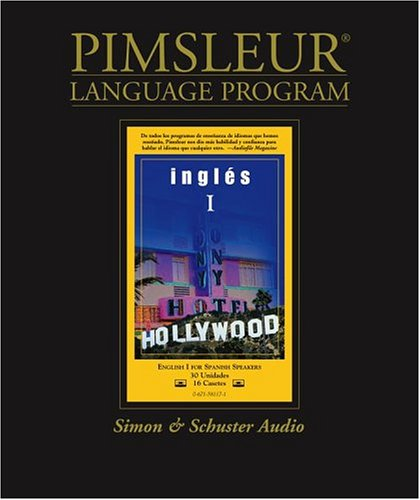 9780671581176: English for Spanish I, Comprehensive: Learn to Speak and Understand English for Spanish with Pimsleur Language Programs