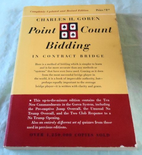 9780671592301: Charles H. Goren's Point Count Bidding in Contract Bridge