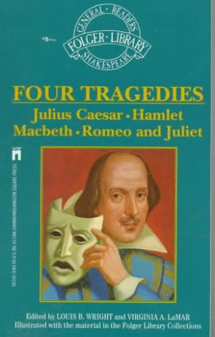 9780671601058: Four Great Tragedies: Romeo and Juliet, Julius Caesar, Hamlet, Macbeth (The New Folger Library Shakespeare)
