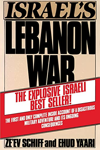 9780671602161: Israel's Lebanon War