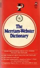9780671603885: The Merriam-Webster Dictionary
