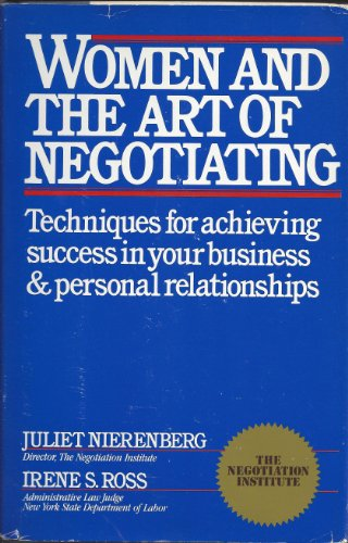 9780671603915: Women and the Art of Negotiating