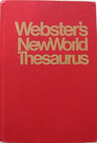 9780671604370: Webster's New World Thesaurus