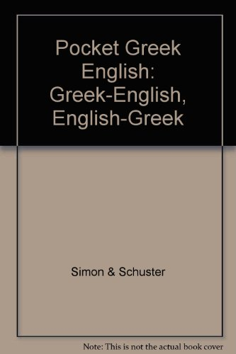 9780671604677: Pocket Greek English: Greek-English, English-Greek
