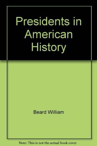 9780671605322: Presidents in American History