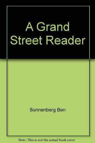 9780671606237: A Grand Street Reader
