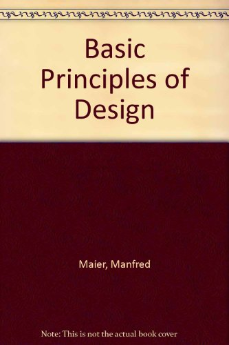 9780671608200: Basic Principles of Design