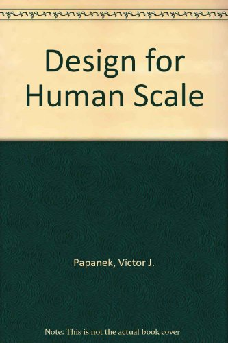 9780671608217: Design for Human Scale
