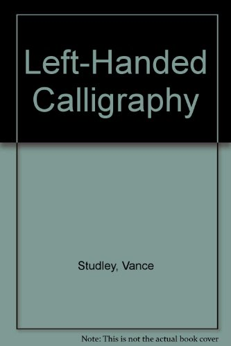 9780671608262: Left-Handed Calligraphy