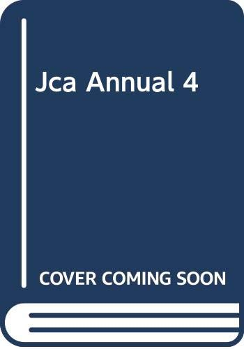 Jca Annual 4: Japan Creator's Association