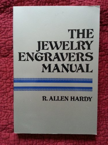 9780671609054: The Jewelry Engraver's Manual