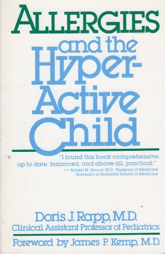 9780671611316: Allergies and the Hyperactive Child