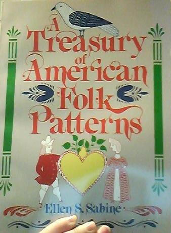 9780671612085: A treasury of American folk patterns