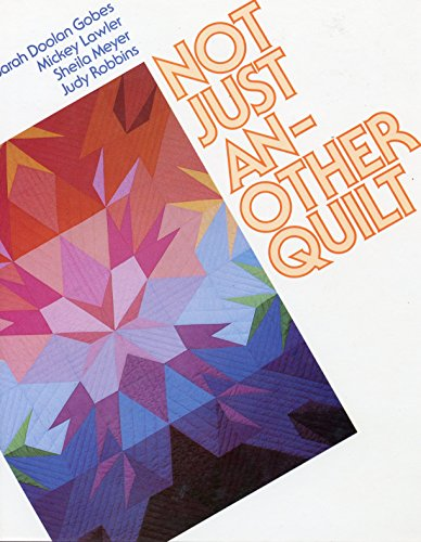 9780671612481: Not Just Another Quilt