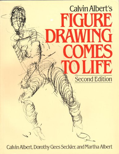 9780671612559: Calvin Albert's Figure Drawing Comes to Life