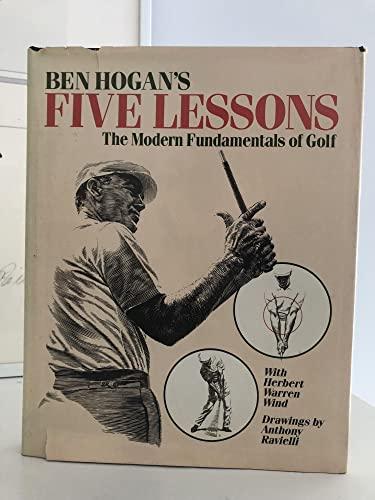 9780671612917: Ben Hogan's Five Lessons: The Modern Fundamentals of Golf [Gebundene Ausgabe] by