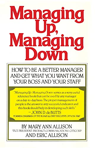 9780671613440: Managing Up, Managing Down
