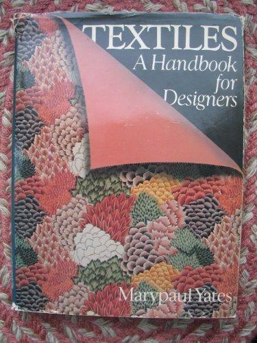 9780671614065: Textiles: A Handbook for Designers