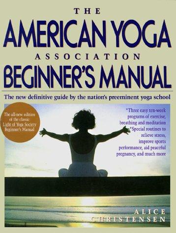 9780671619350: American Yoga Association Beginner's Manual